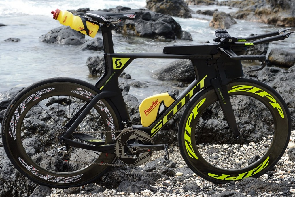 World Champion IRONMAN 2014 Sebastian Kienle's tri bike