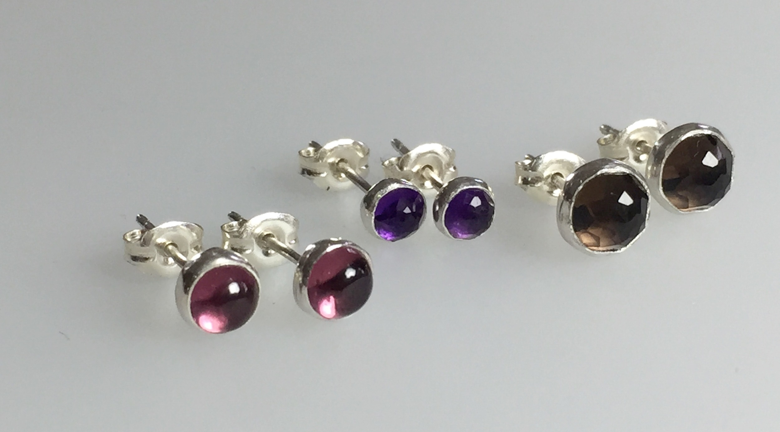 Gemstone Stud Earrings Workshop
