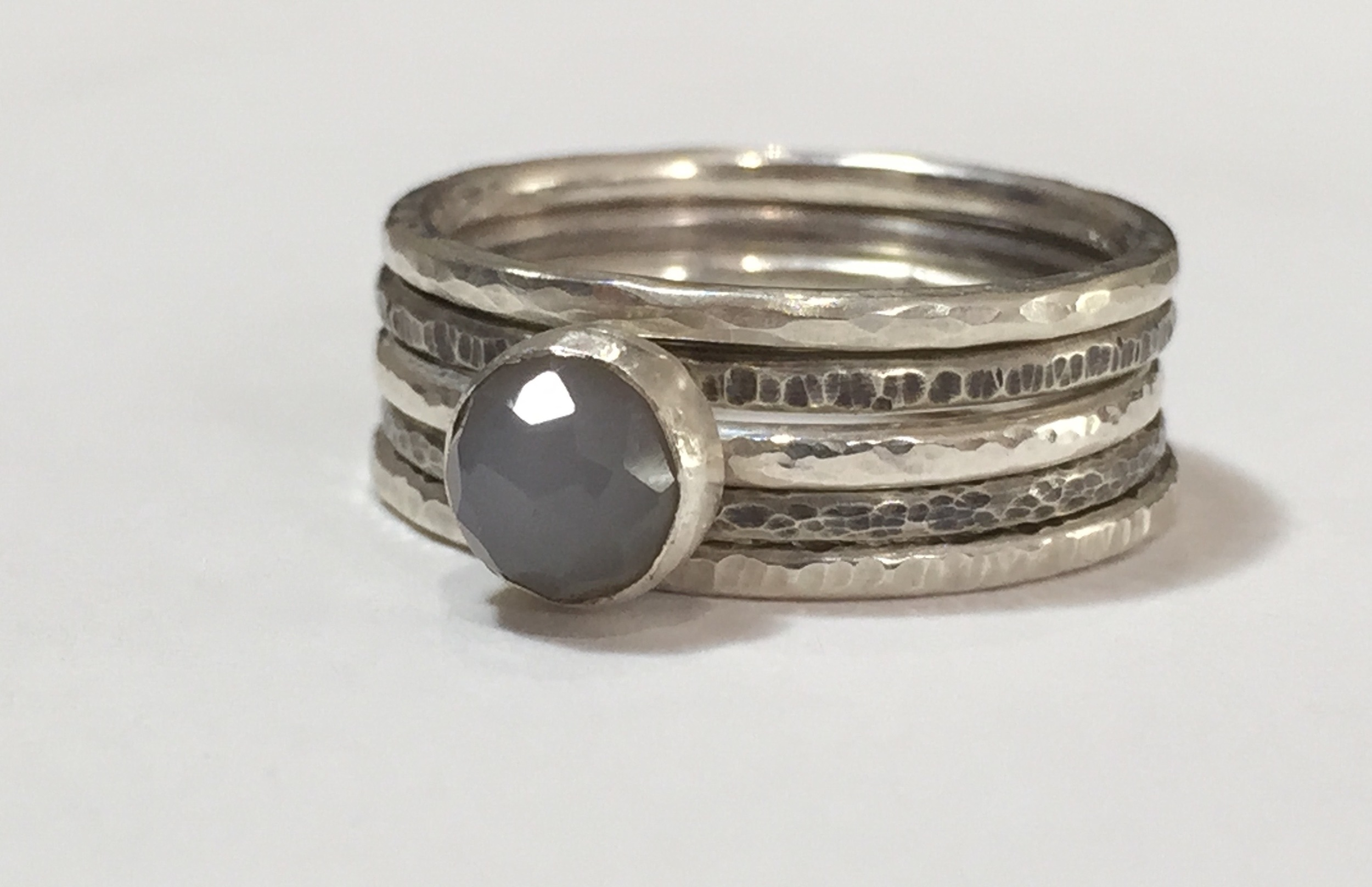 Stacking Rings and Gemstone Setting Workshop