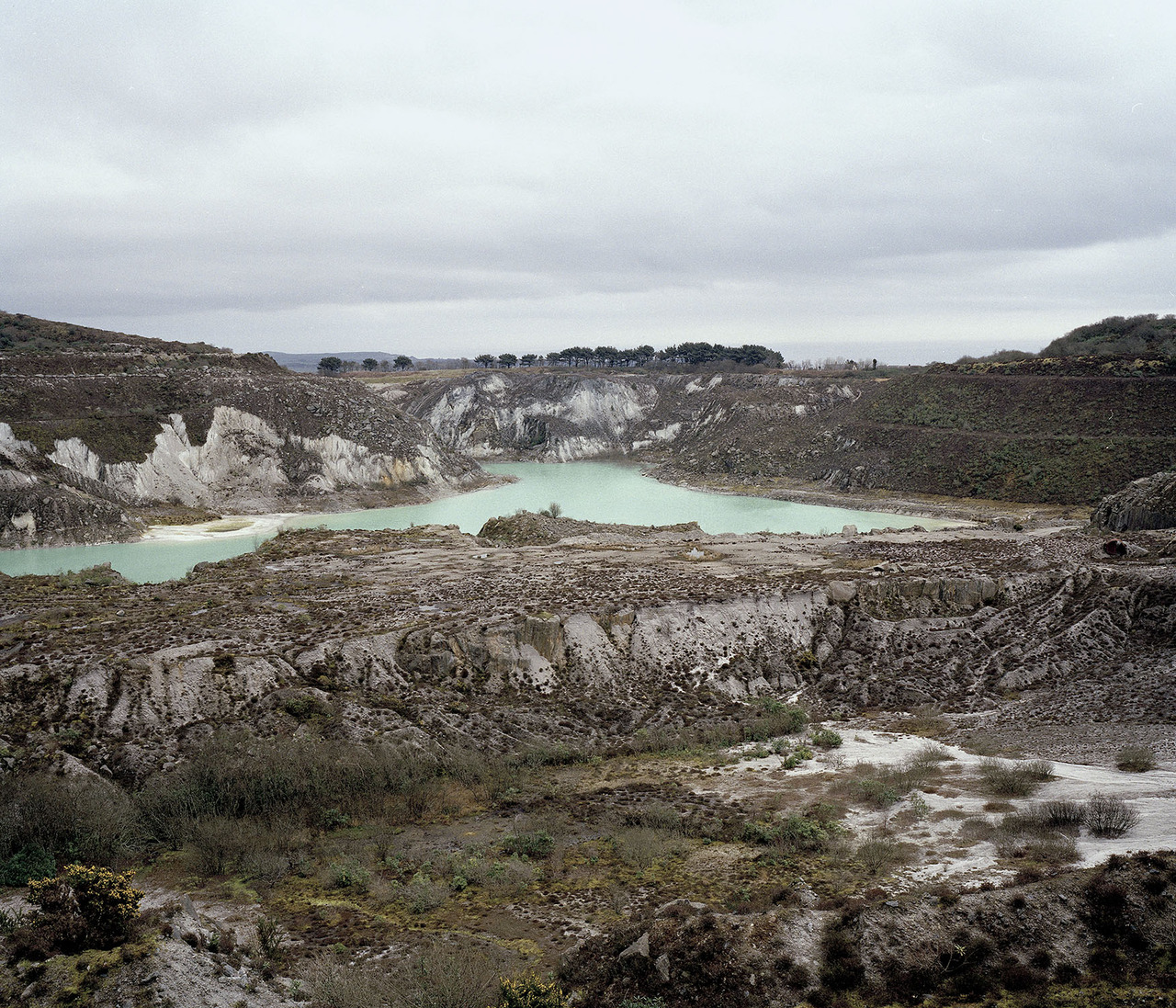 Baal Pit, China Clay Country, Cornwall. 2013