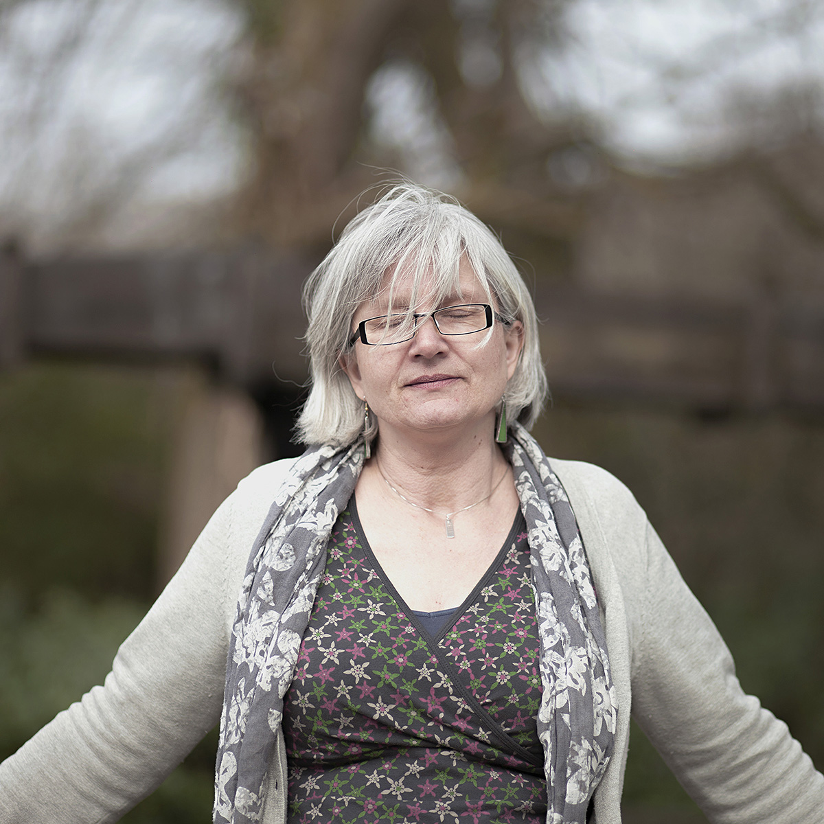 Jo Moore , curator at the Wheal Martyn museum