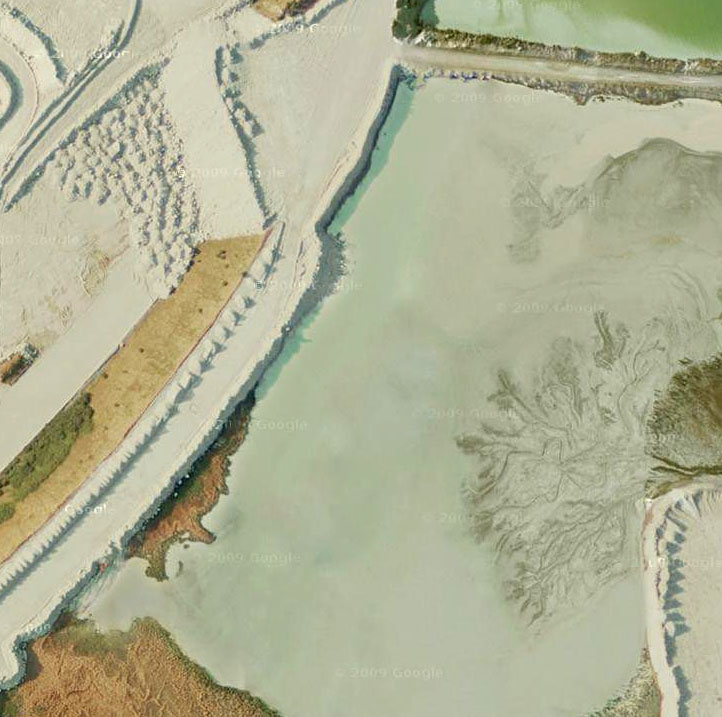 Satellite image from Google