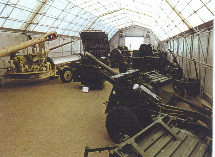 WWII ammunition shed - int 1 WWII artillery.jpg