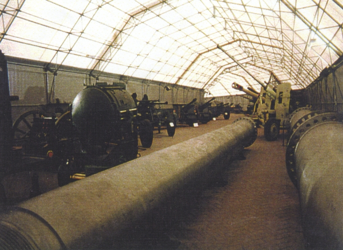 WWII ammunition shed - int 4 Iraqui supergun.jpg