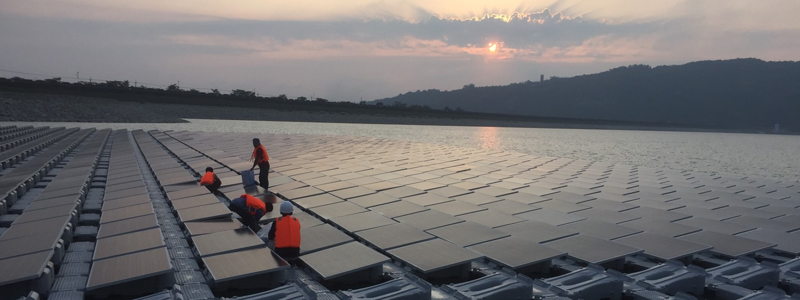 Agongdian Reservoir (#20) - Image: Ciel e Terre