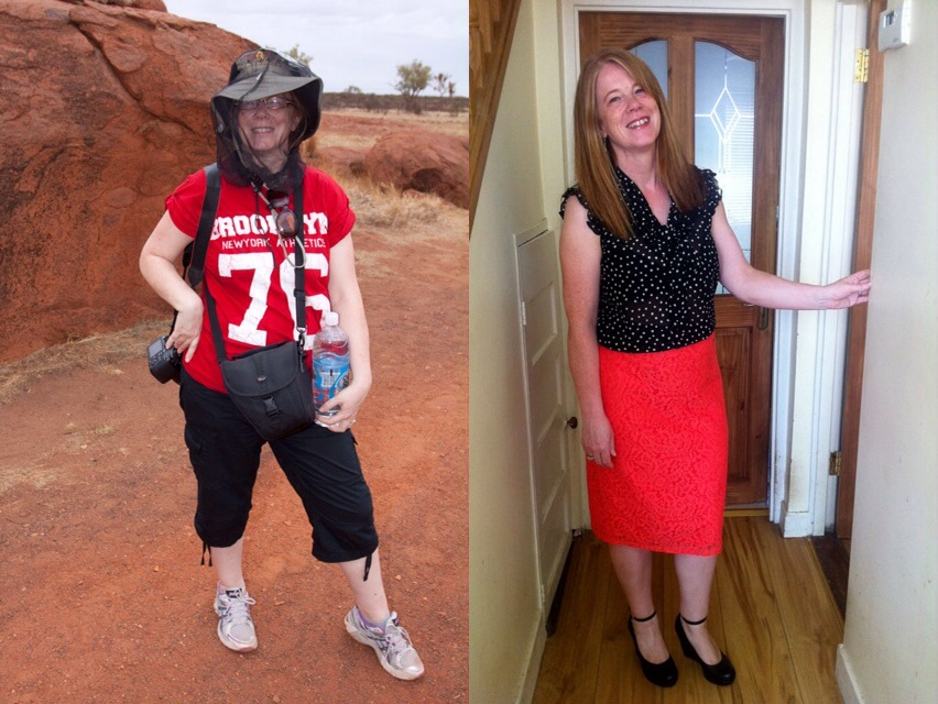Aideen Pollard Before and After
