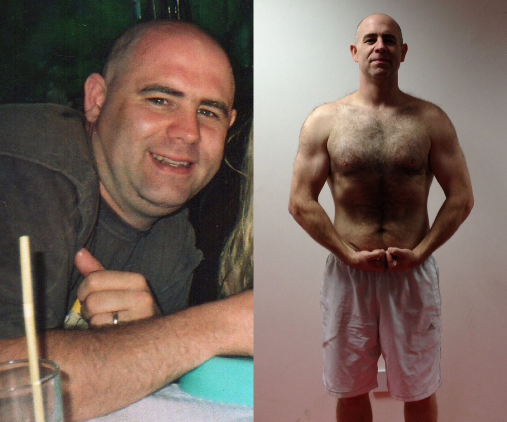 Keith Murphy Before and After