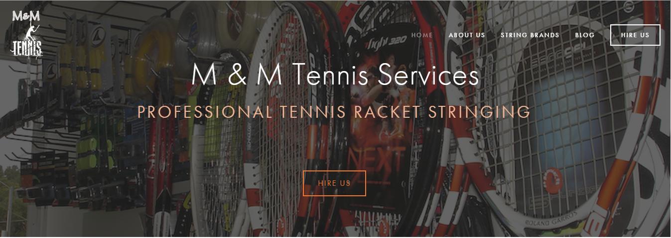 M & M Tennis Shop