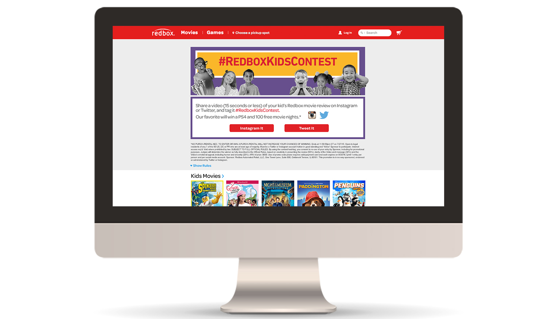 Landing Page (desktop)