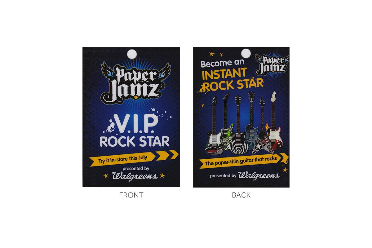 Walgreens Paper Jamz Product Launch