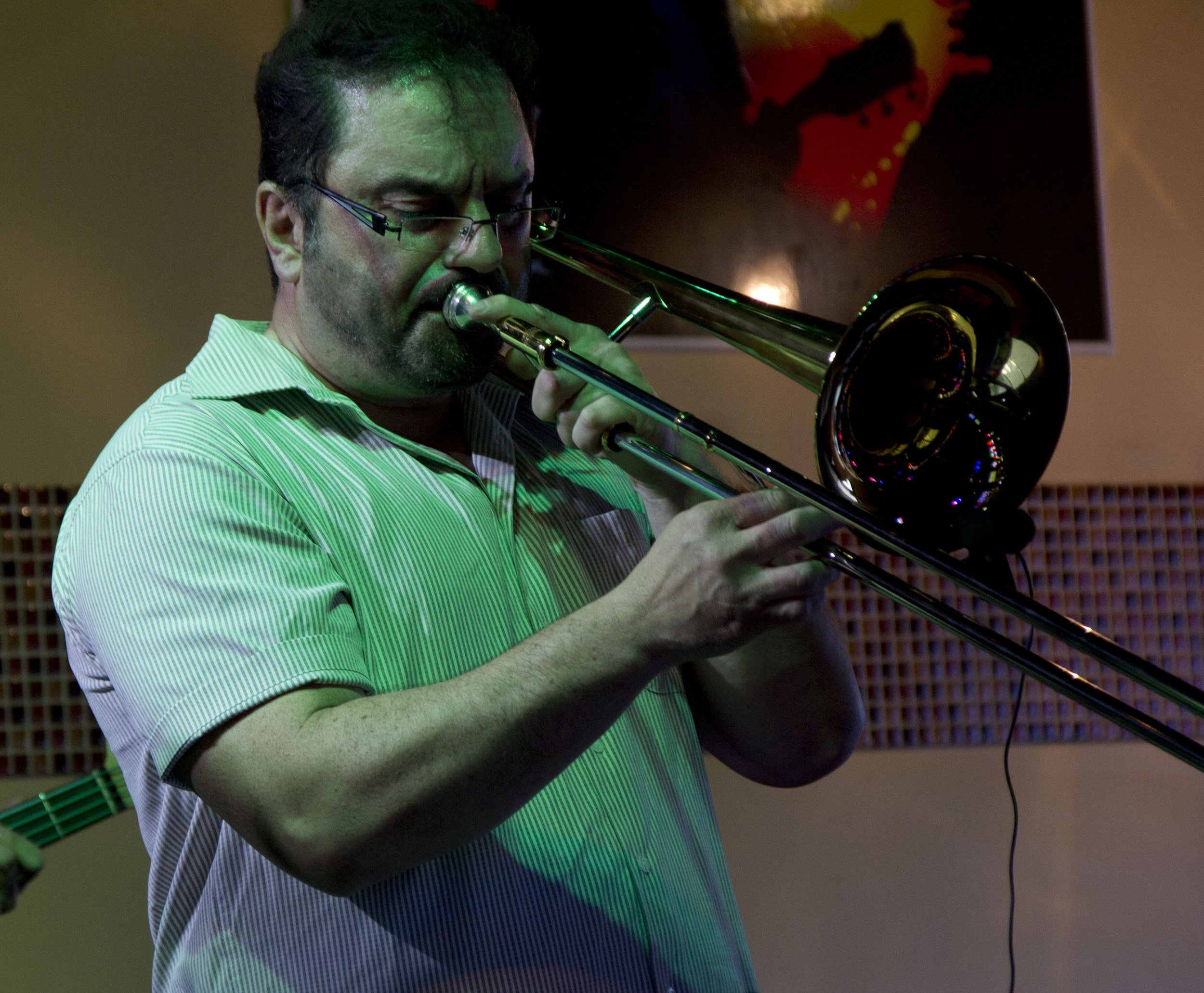Rob is a veteran horn player who has played in various ensembles throughout the GTA. He performs in all genres of music, but is principally drawn to Jazz and Jazz-Rock Fusion.