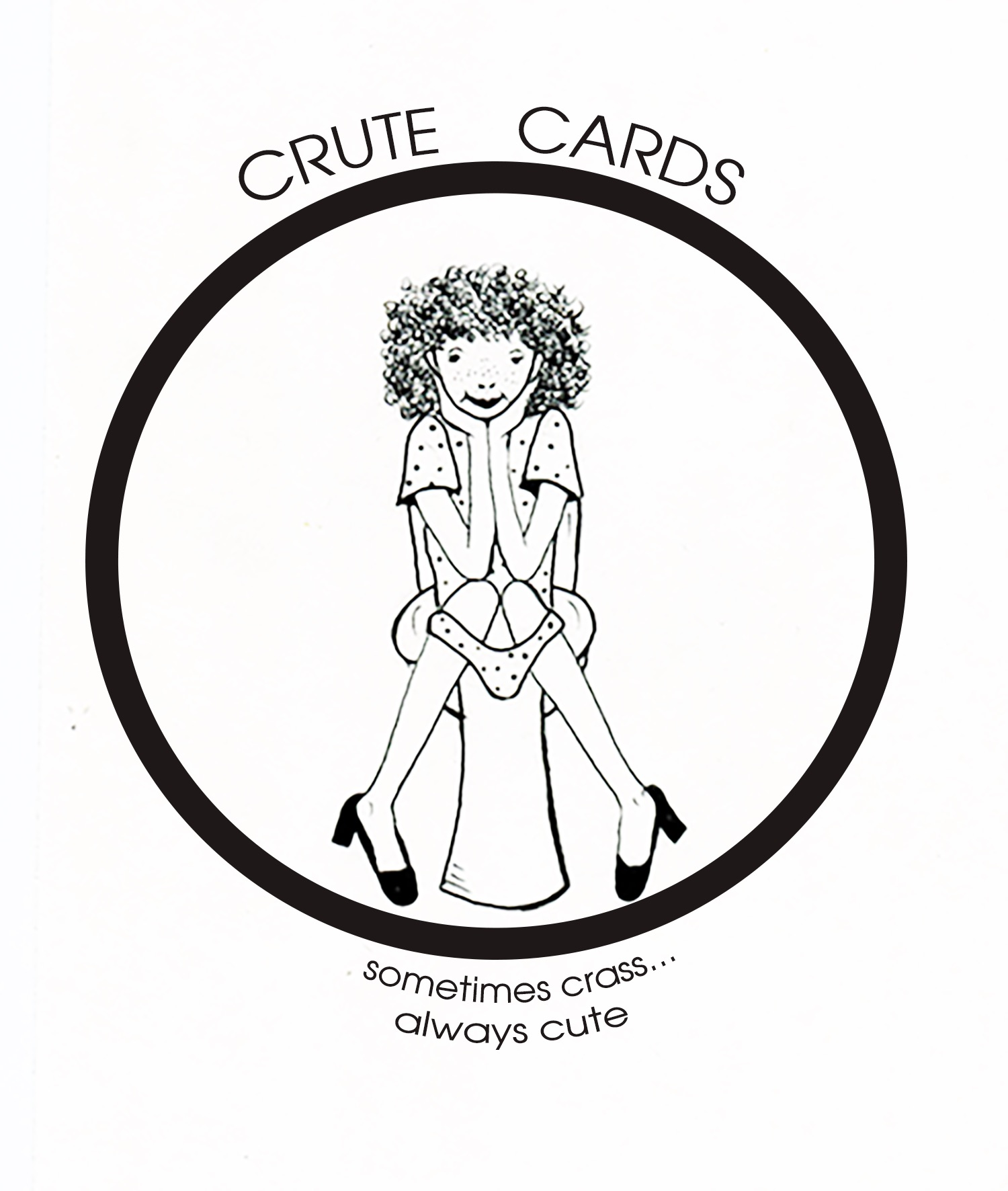 "Greeting ""CRUTE"" Cards"