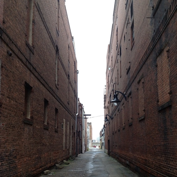 Alley in Downtown Macon, Georgia