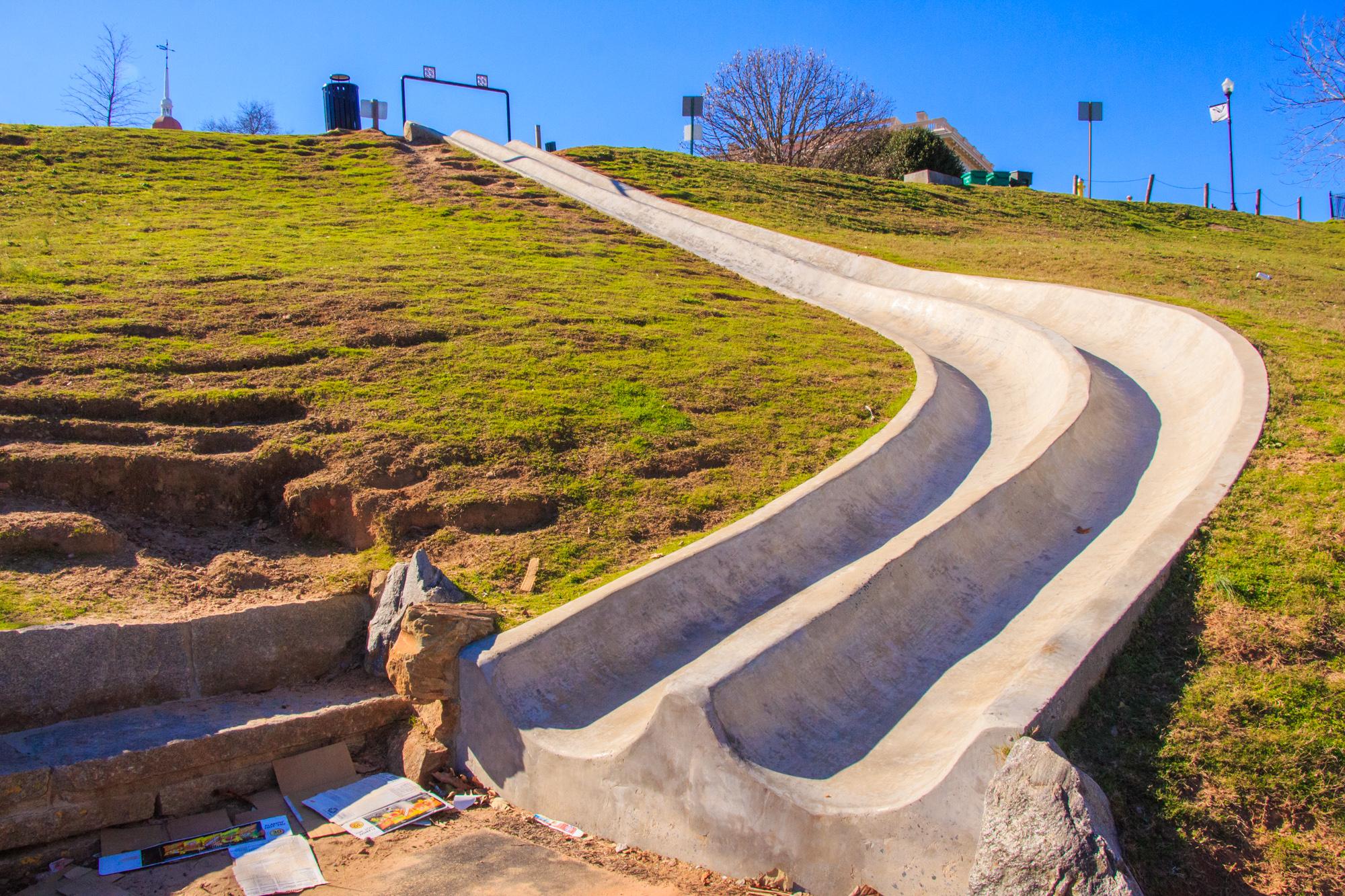 Coleman Hill Slide. Macon, Georgia