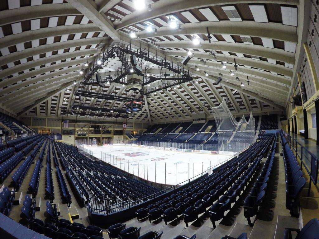 Macon Centreplex Ice Hockey Rink. Macon, Georgia