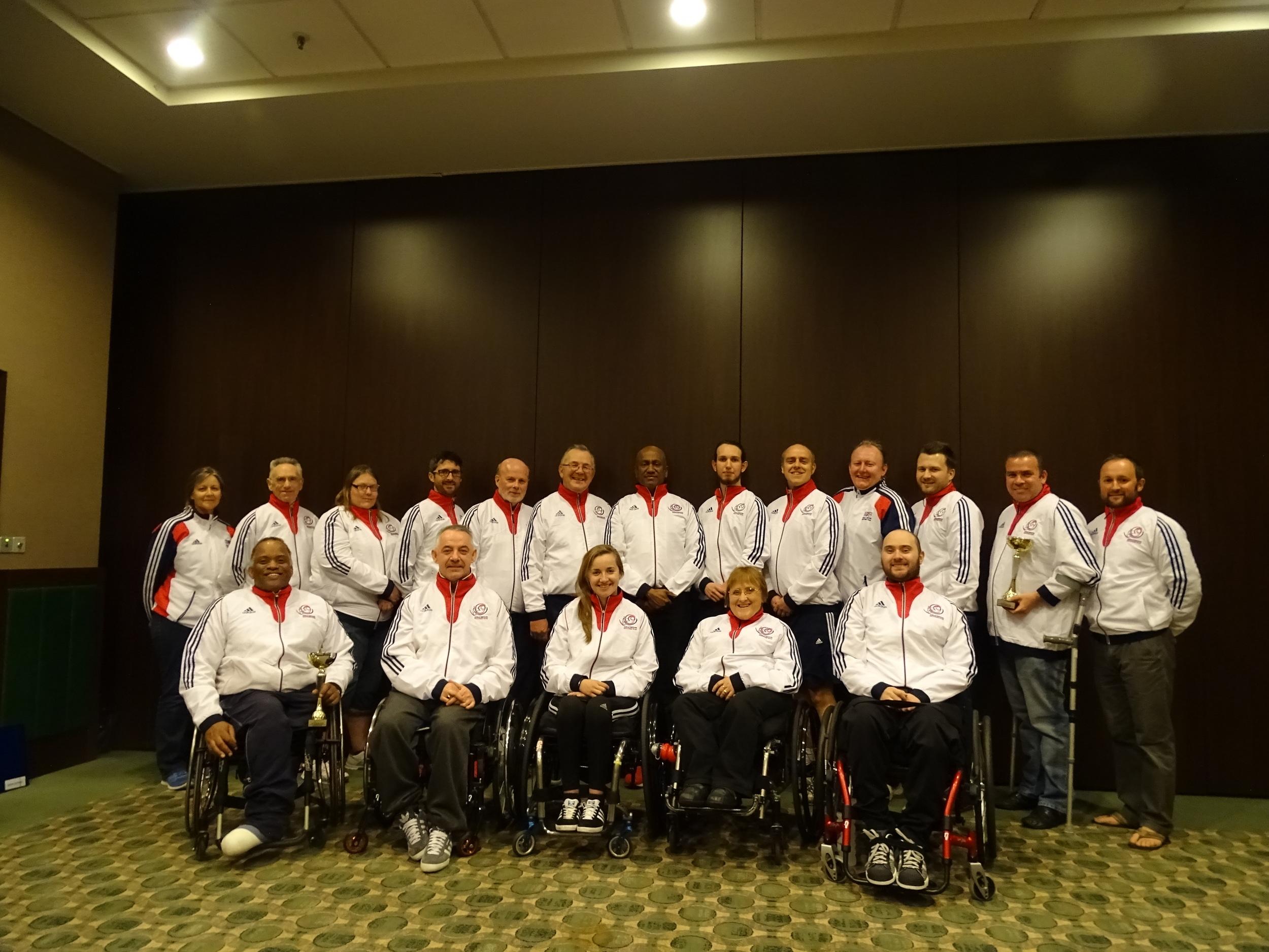 GB team for Poland 2015