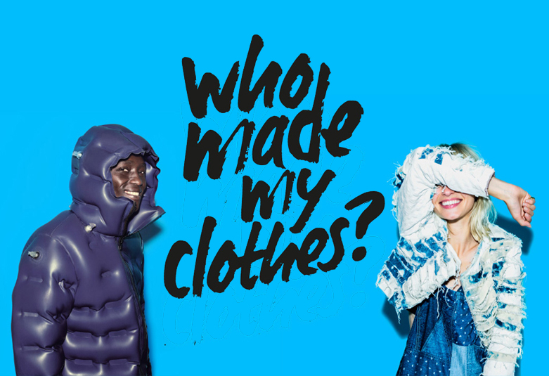 FASHION REVOLUTION   Proud to have founded the Fashion Revolution Canada Instagram Account,  Fash_RevCan.  Be sure to visit / post / tag brands and ask them:  #WHOMADEMYCLOTHES?  Your voice can transform the fashion industry. Be curious. Find out. Do something.
