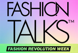 FASHION TALKS PODCAST  Host Donna Bishop, Fashion Takes Action's Kelly Drennan, and I, discuss the fashion revolution in which we find ourselves, the 5th anniversary of Rana Plaza, and how I accidentally became a fashion activist. Thank you to CAFA and Fashion Talks for having me.  Listen here.