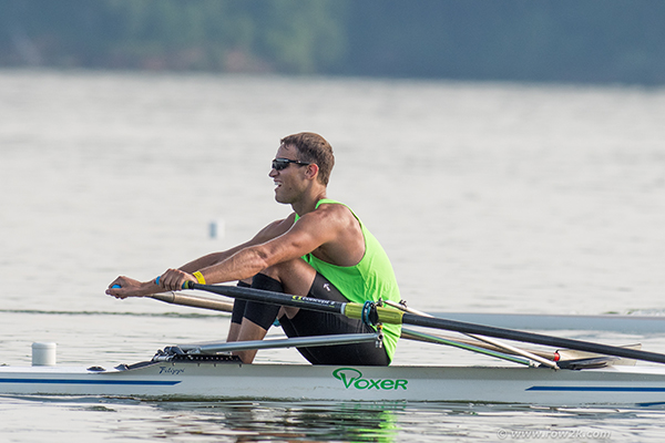 Mens Open Single Scull  |  Club National Championships  |  Cincinnati, Ohio, US   |  July 2017