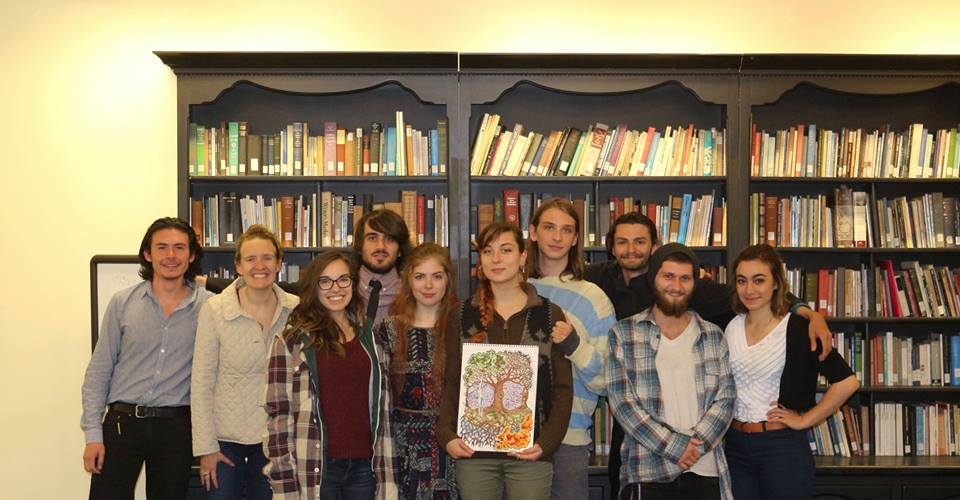 Stony Brook's finest, celebrating the publication of their poetry anthology with a reading in the Poetry Center.