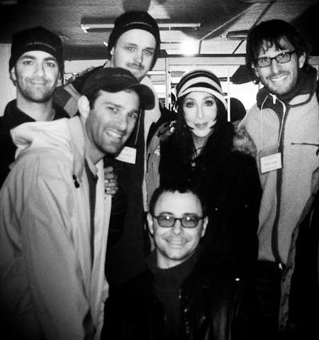Scott Stewart, Jon Rothbart, Me, Scott Kaplan, Cher, John Benson