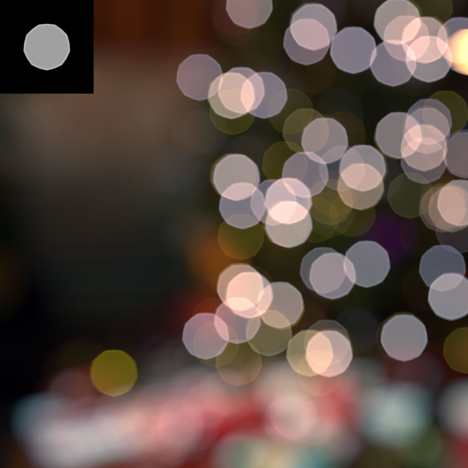 Focus blur, in linear space with HDR source
