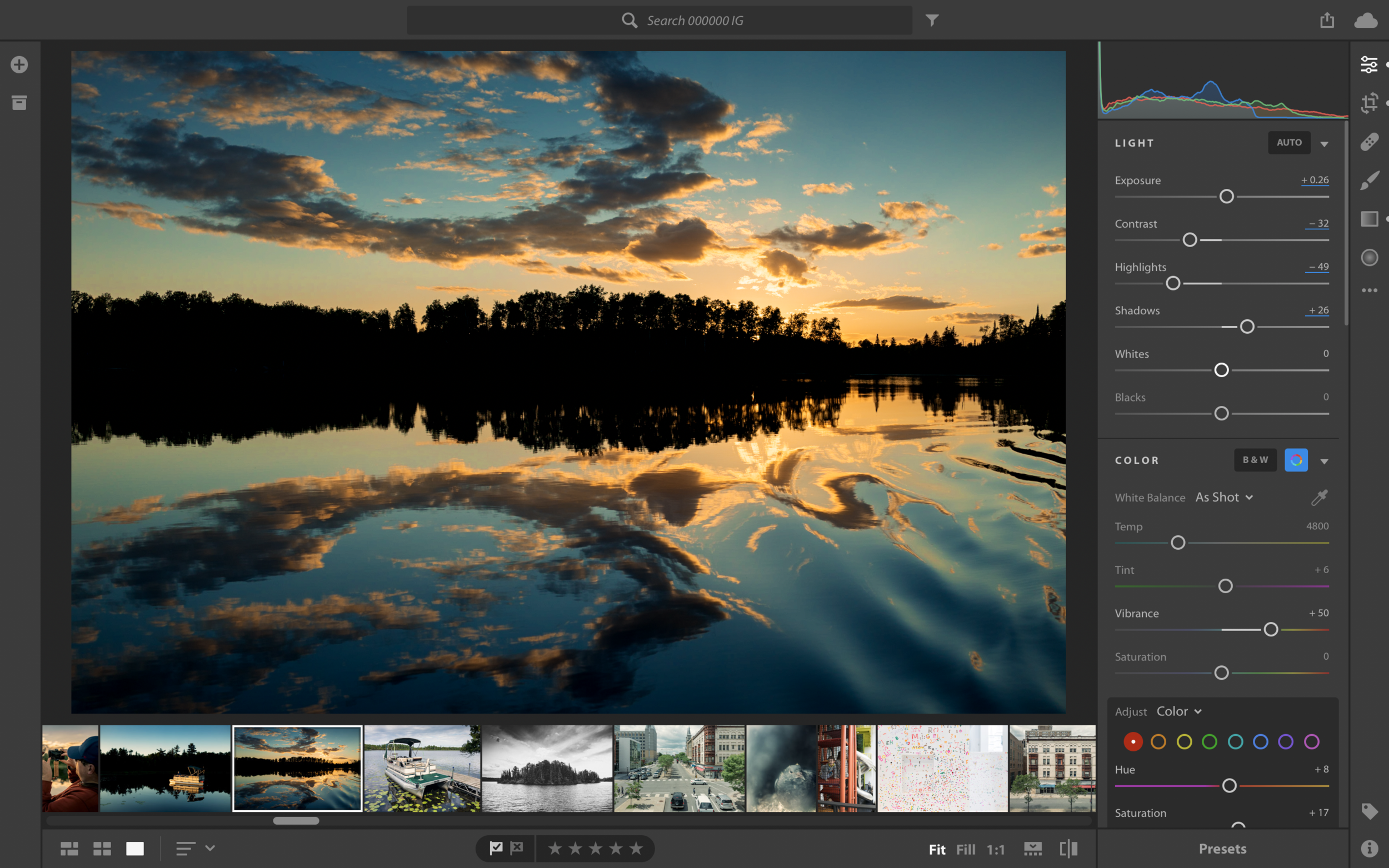 This is Lightroom CC.
