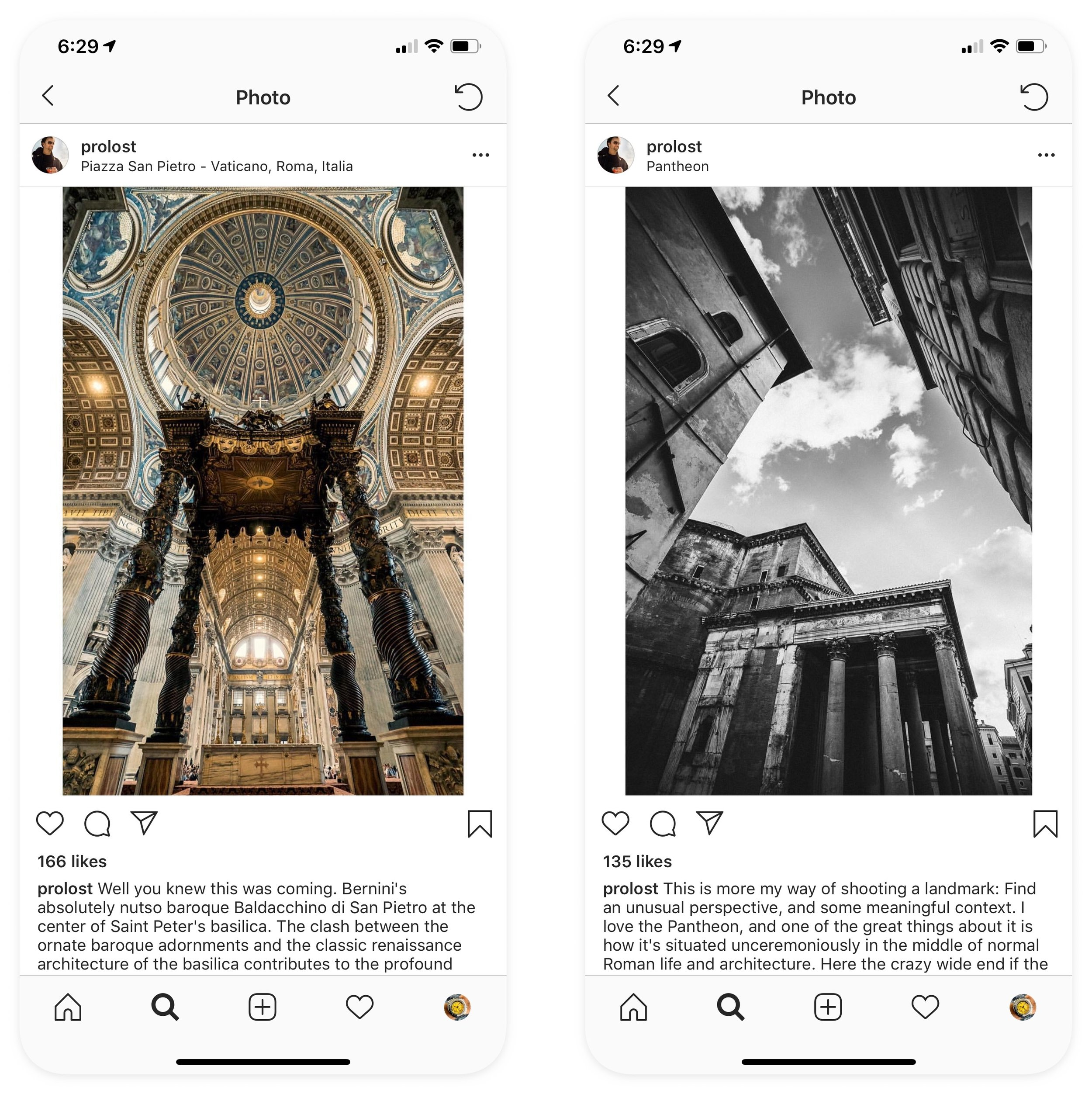 Instamax add white borders to photos that are too tall for Instagram.