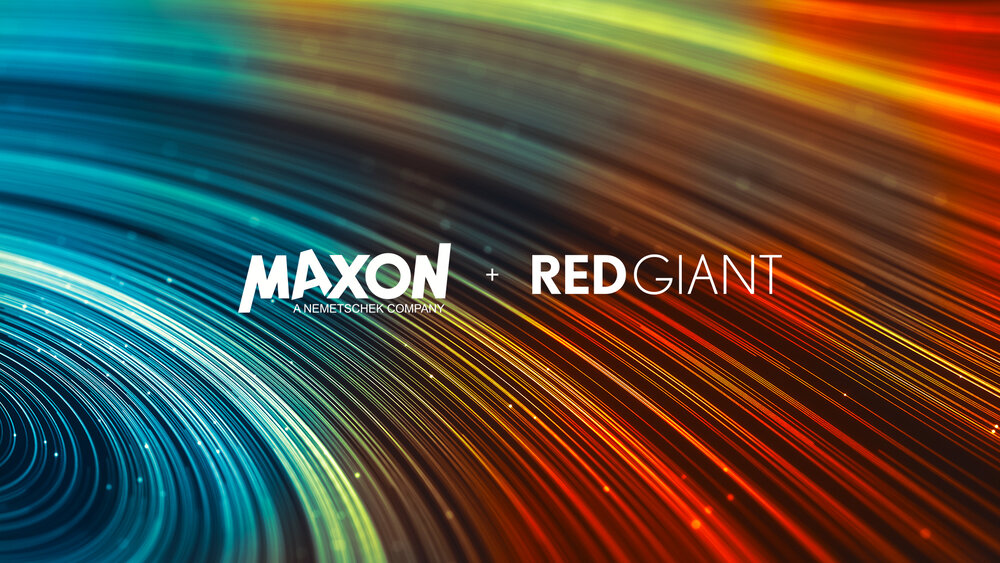 Red Giant & Maxon, Sitting in a Tree