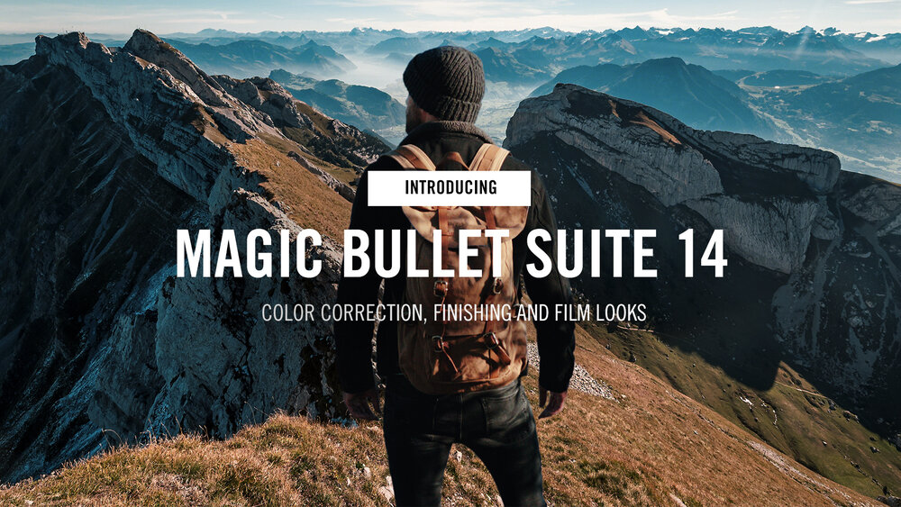 Magic Bullet Suite 14 and Trapcode Suite 16