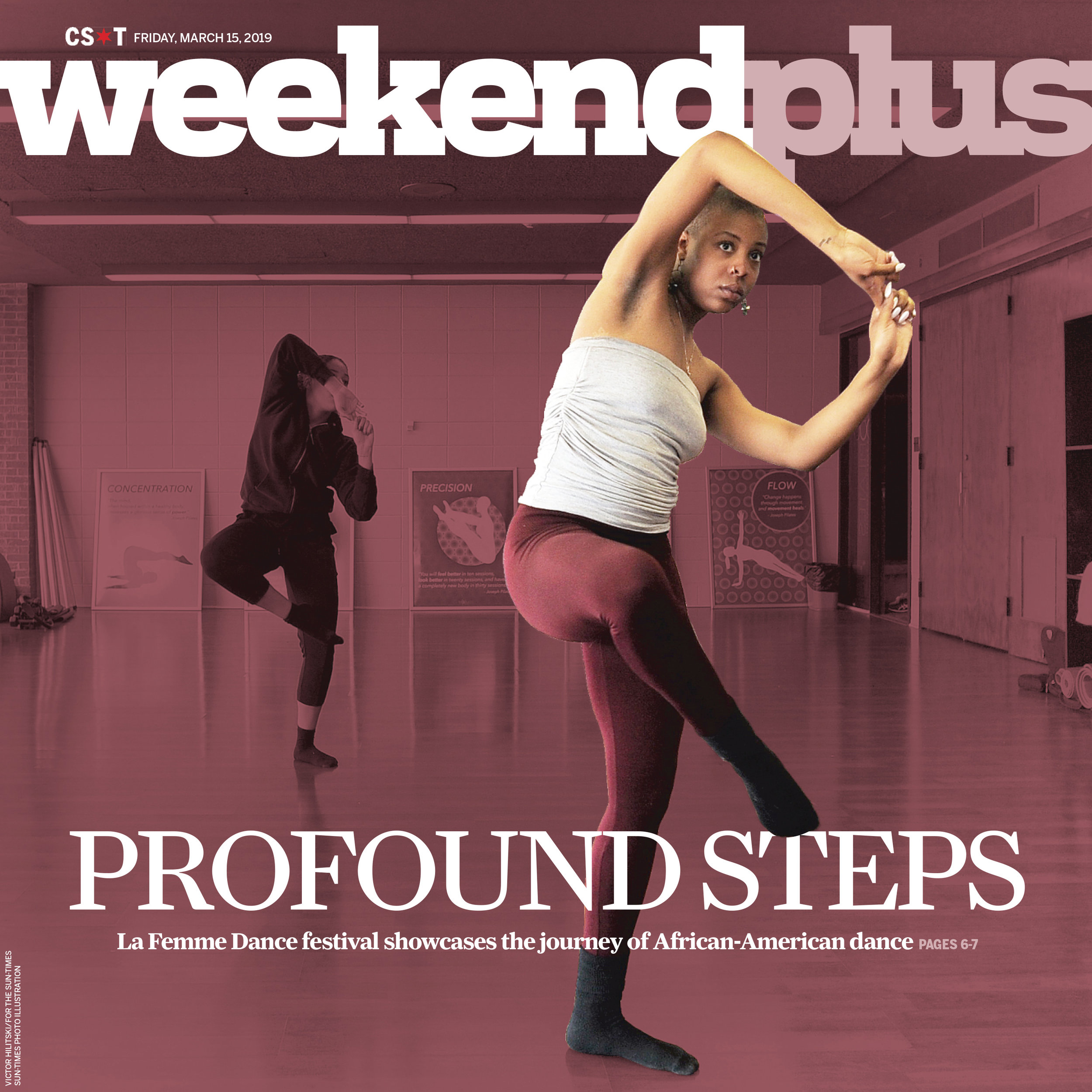 "Cover for the ""Weekend Plus"" section of the Chicago Sun-Times, 2019"