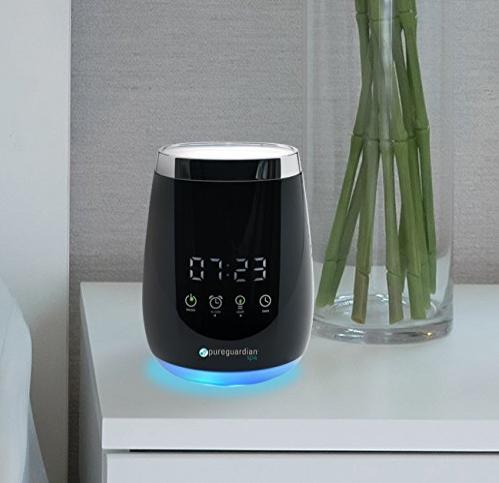 Diffuser + Alarm Clock