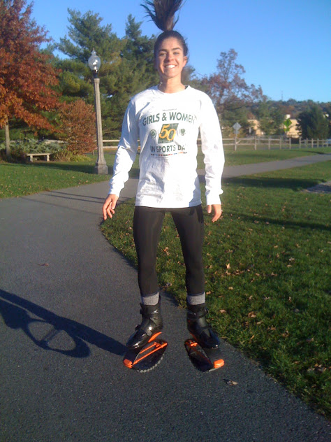 Throwback to a fitness trend I tried a few years ago! Kangoo jump boots - loads of fun along with loads of crazy looks from strangers.