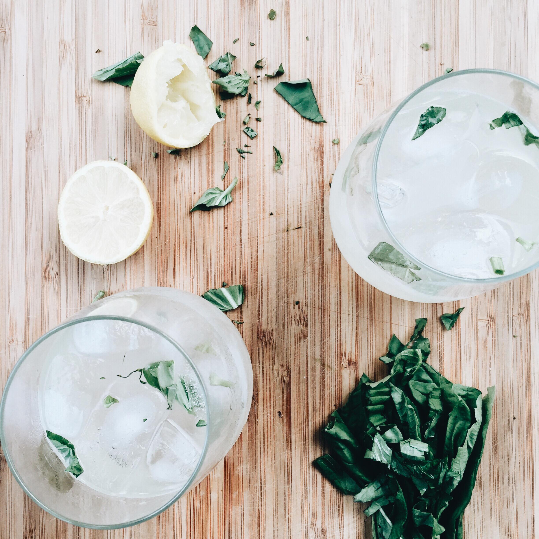 Basil Gin Sours