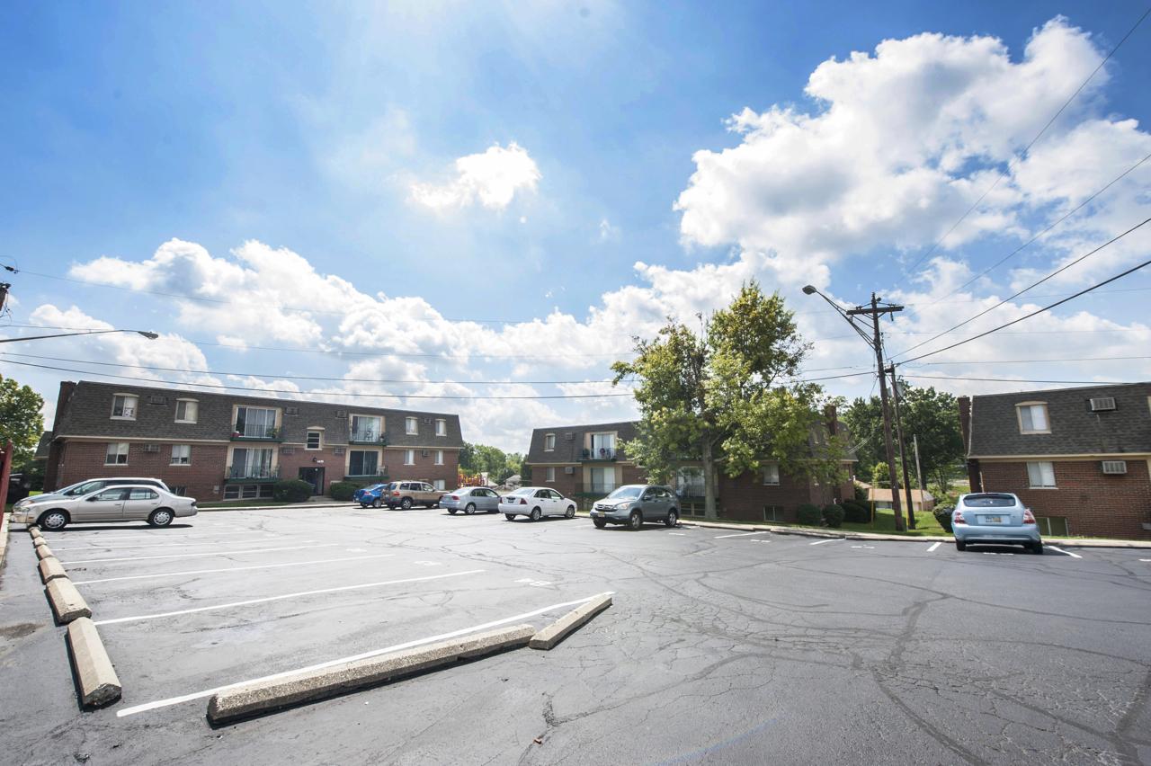 Delshire Apartments: Spacious Parking Lots