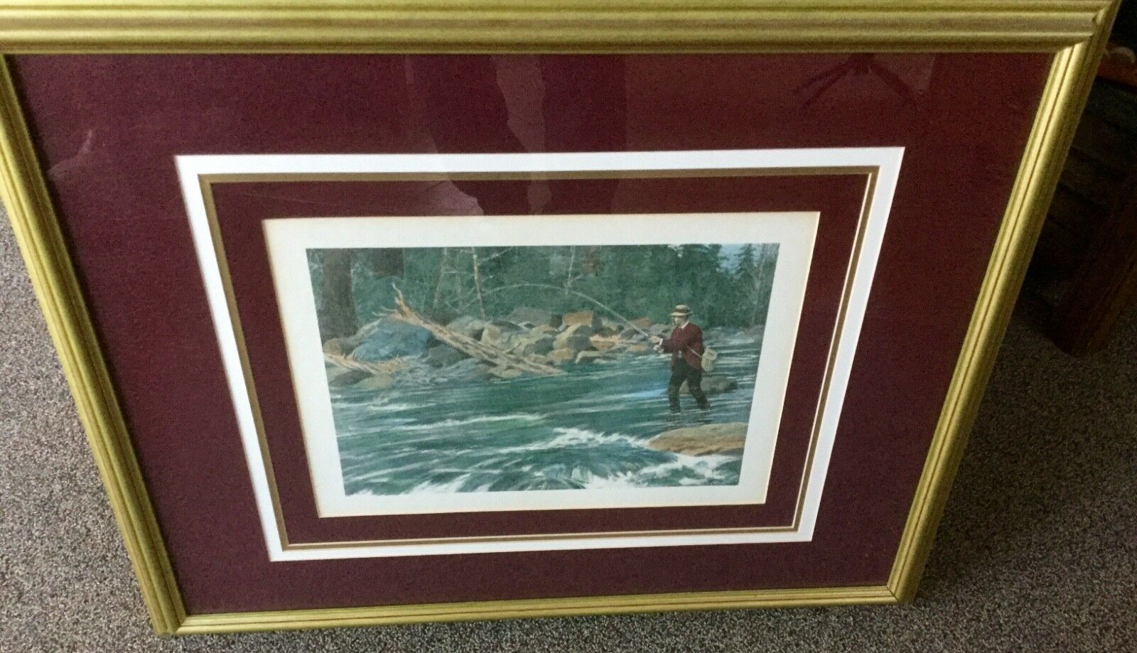 A.B Frost Fly Fishing Print
