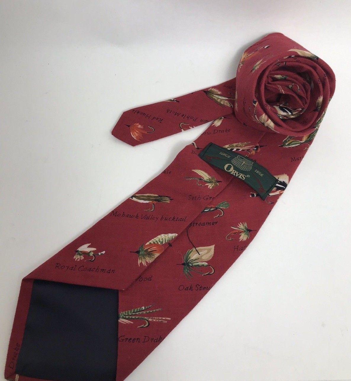 VTG Orvis Fly Necktie