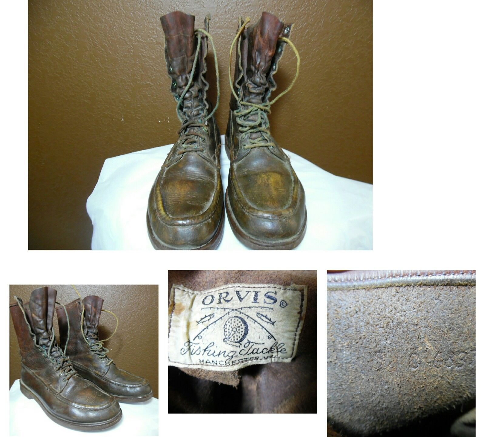 Orvis Vintage Hunting Boots - 9C