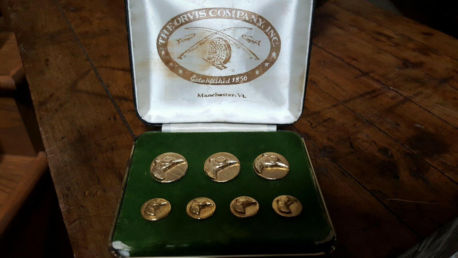 Orvis Pheasant Buttons