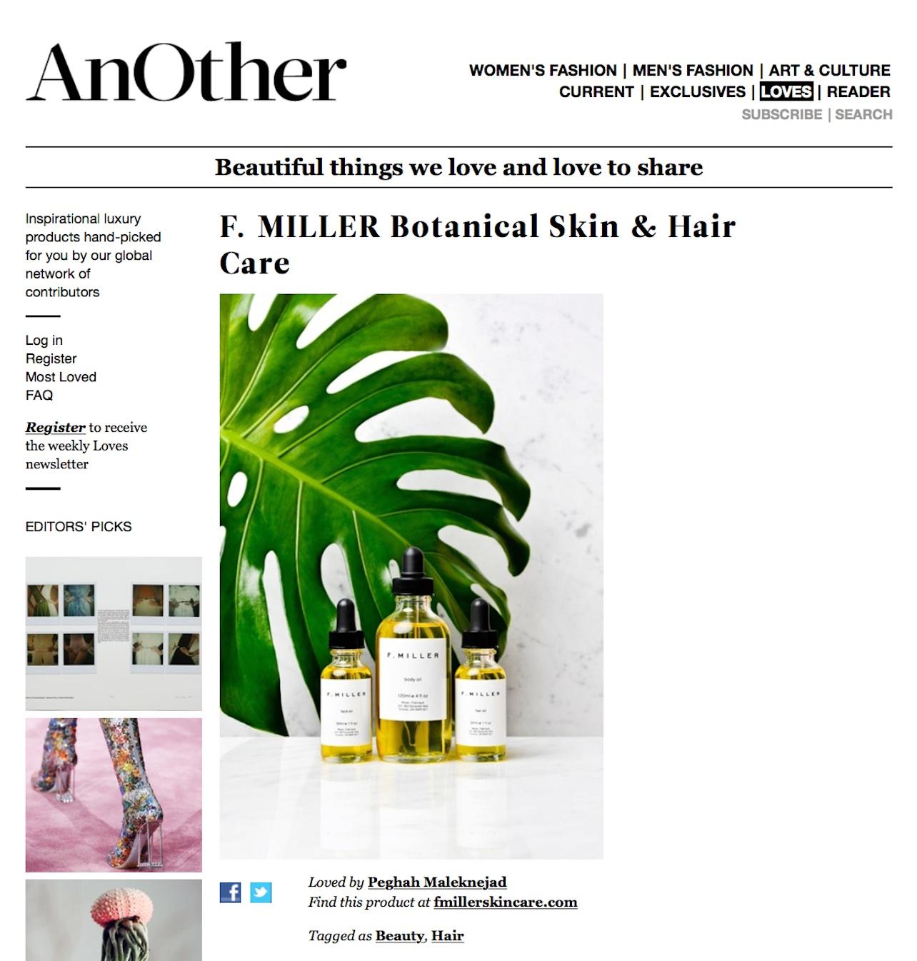 AnOther Magazine || February 2015
