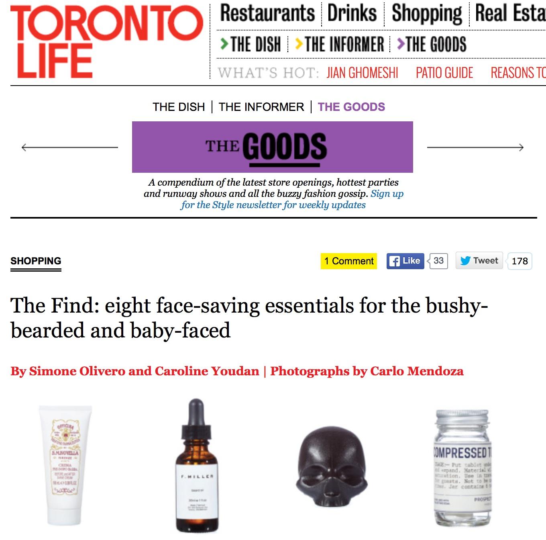 Toronto Life || May 2015