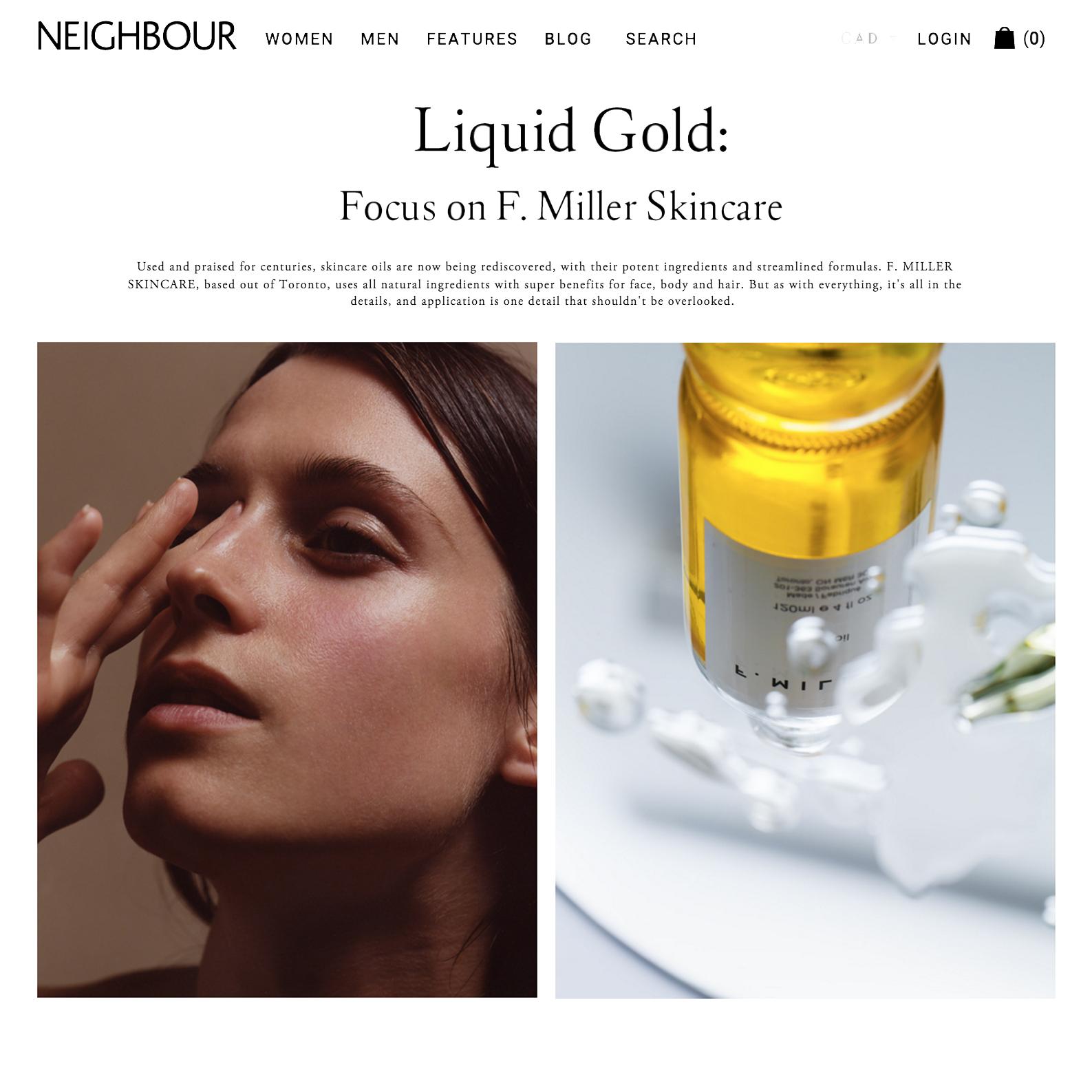 Neighbour // Liquid Gold