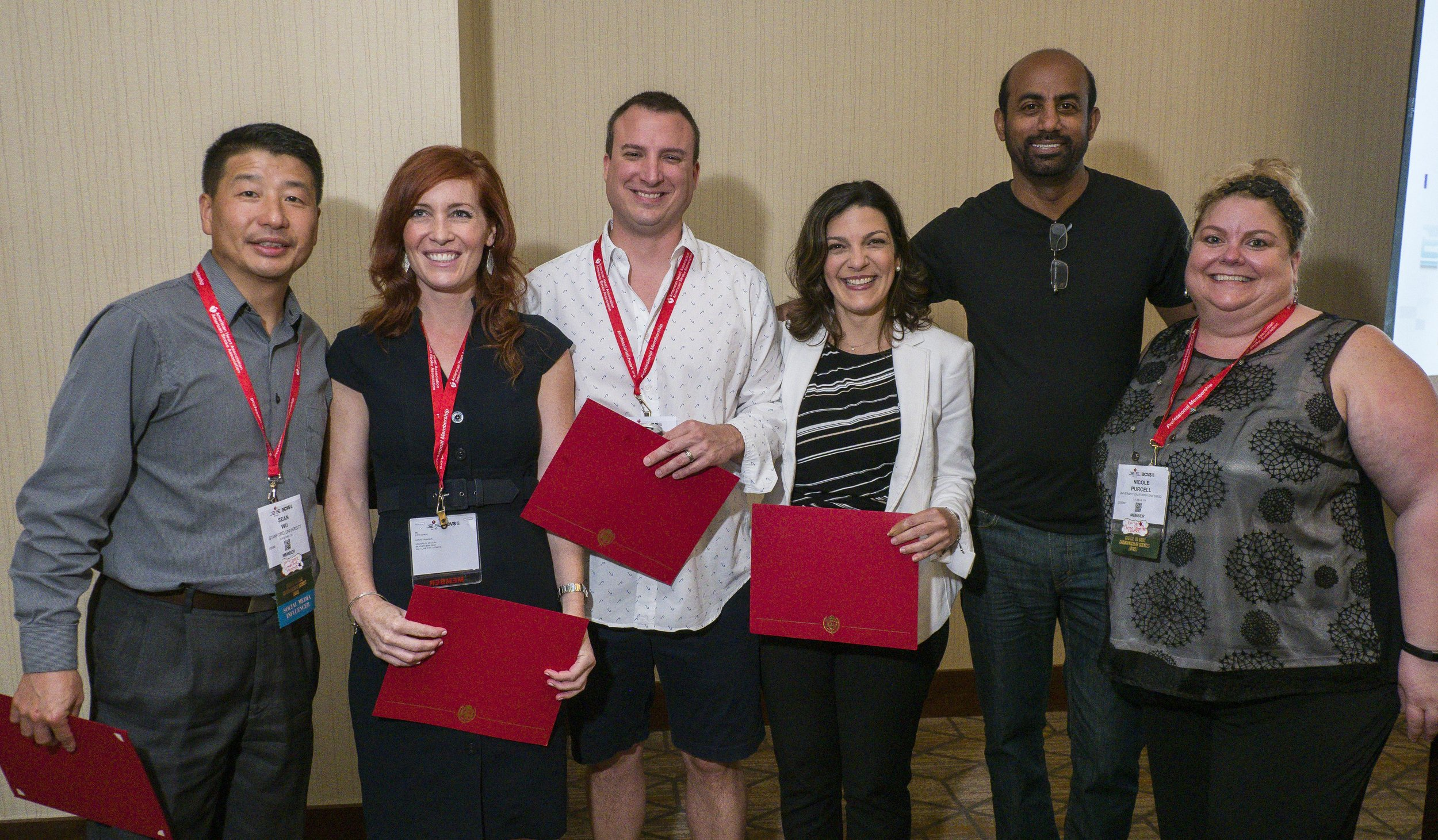 Dr. Elrod was recognized for his service on the AHA Early Career Committee.