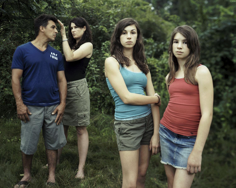Vicki and Antonio, Veronica and Sabine