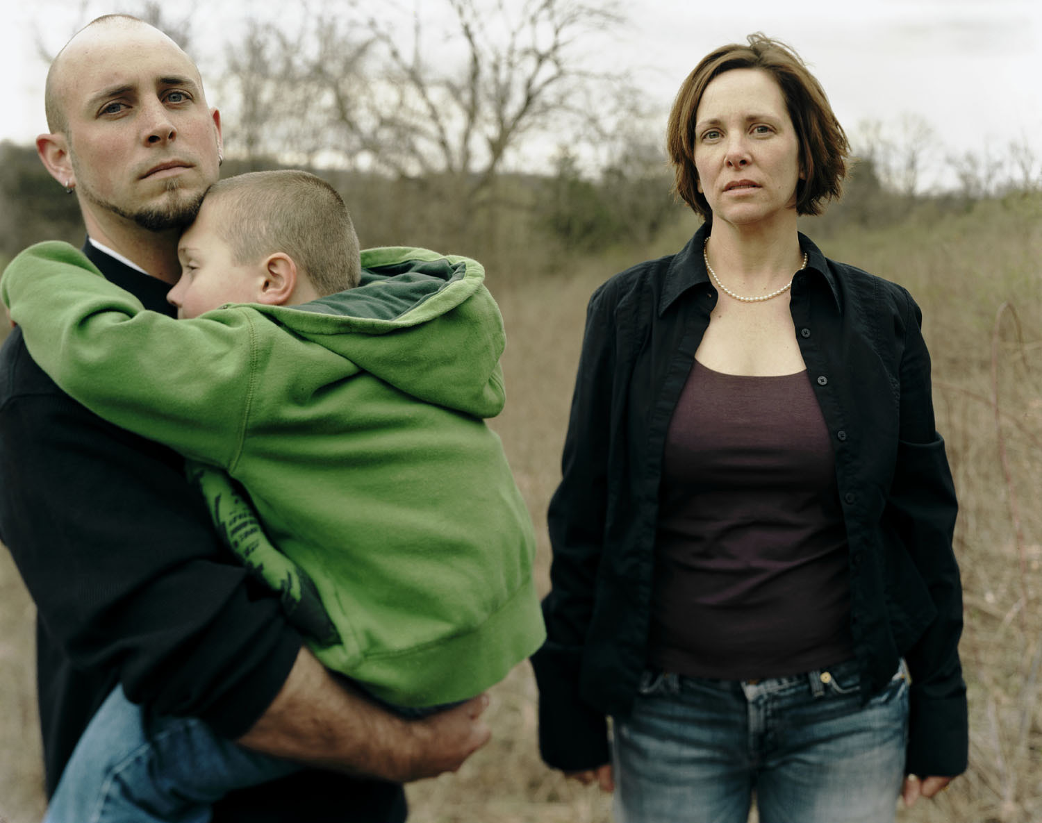 Marie, with Damian and Gage