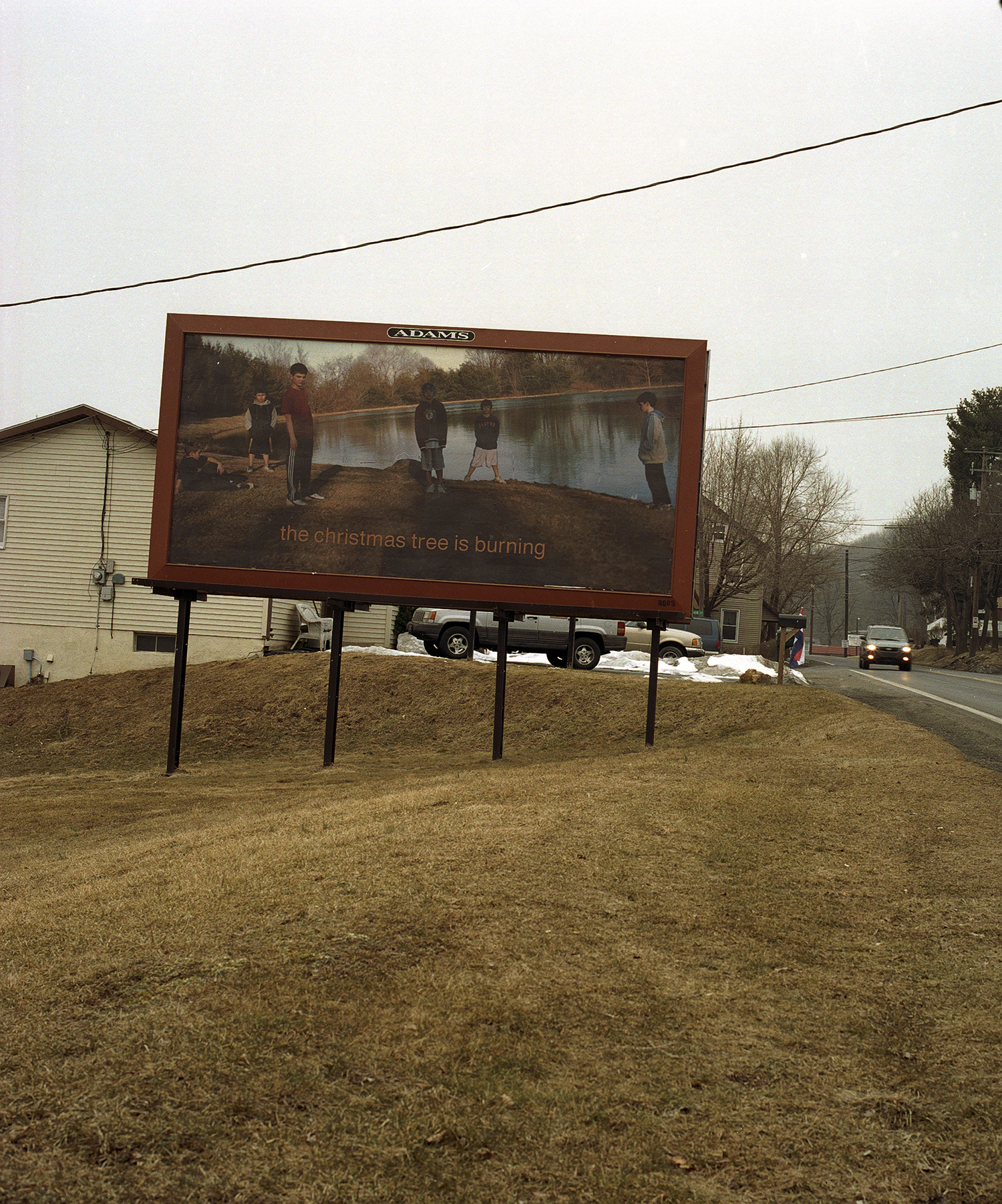 The Christmas Tree is Burning, 1/4 Billboards, Lehigh Valley, PA,   2006