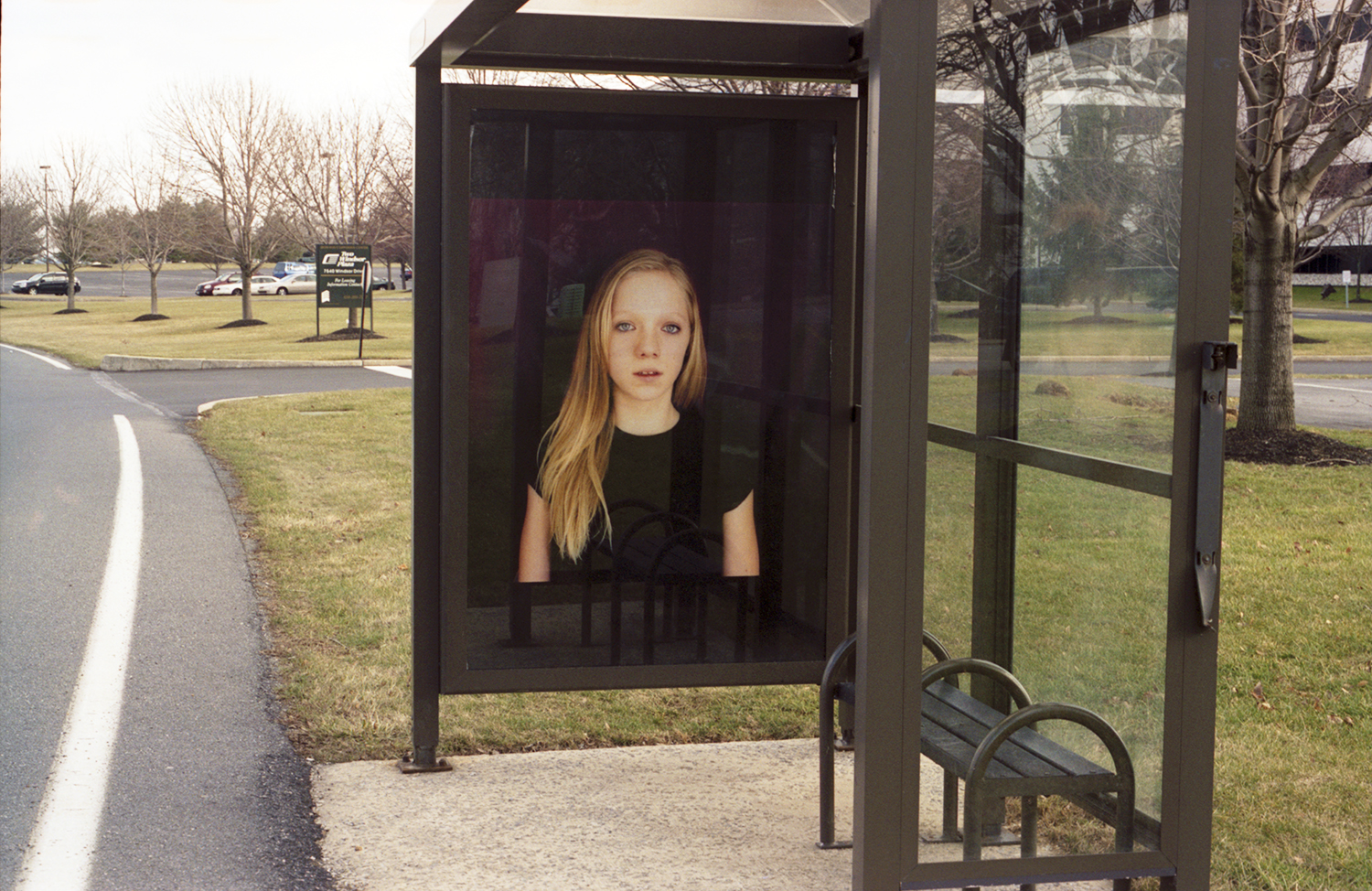 Interior Portraits, 1/11 Bus Shelters, Lehigh Valley, PA 2005