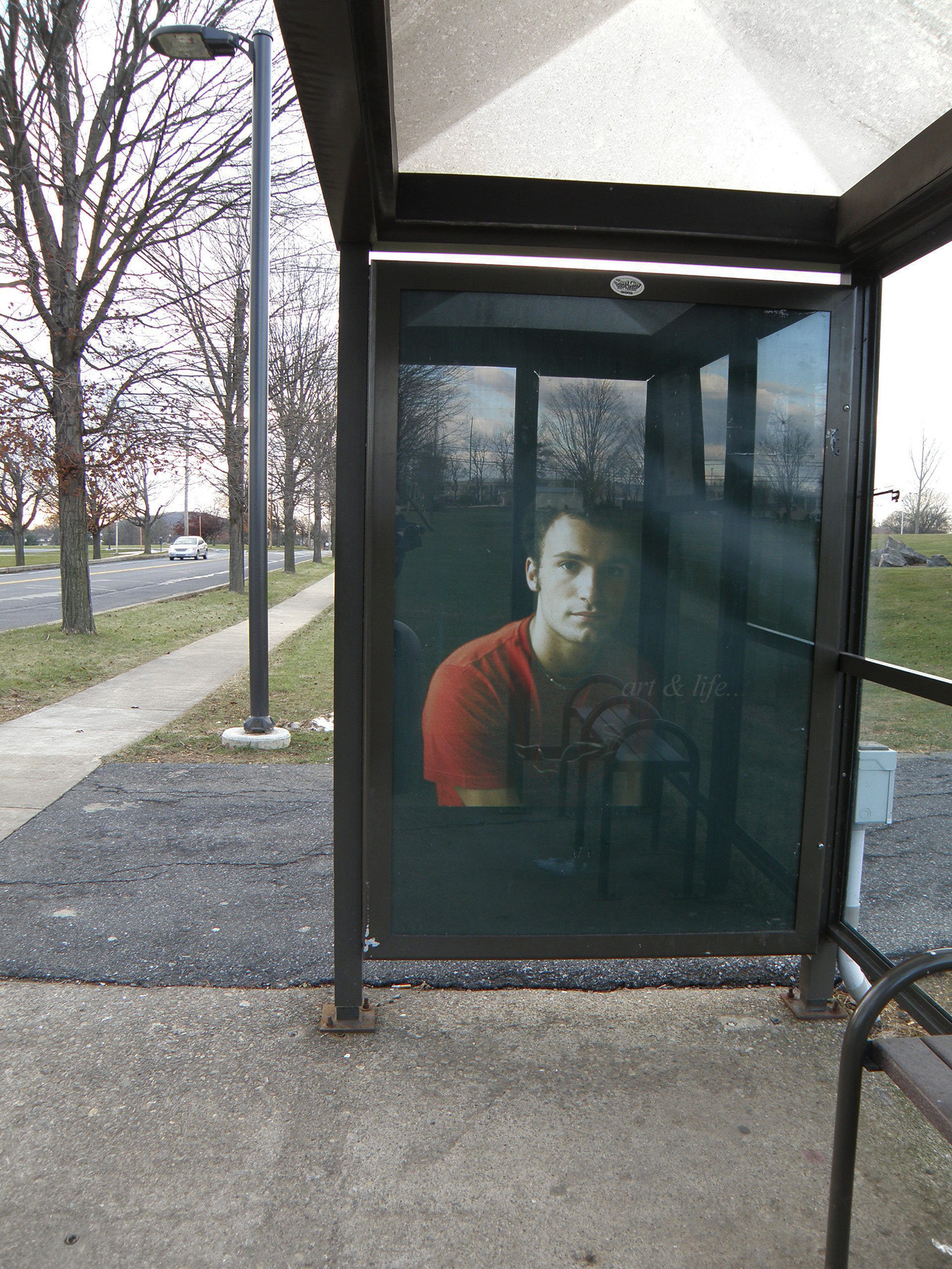 Art & Life, 1/11 Bus Shelters, Lehigh Valley, PA  2010