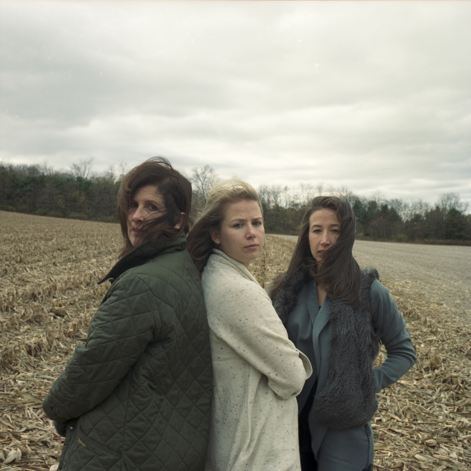 Mary, Claire and Emma