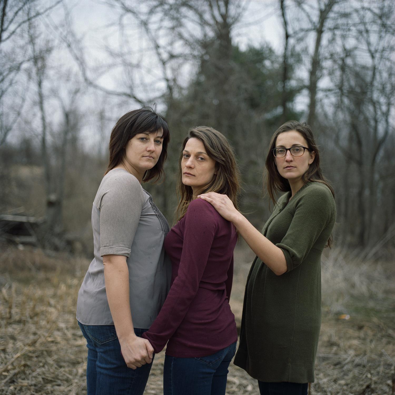 Shena, Jo and Angela